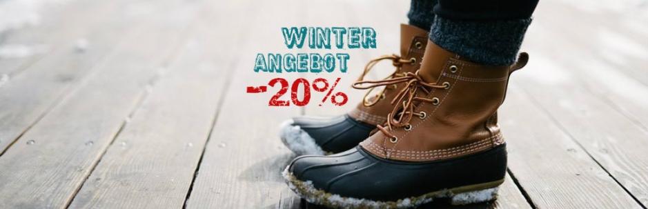 Winter Angebot -20%